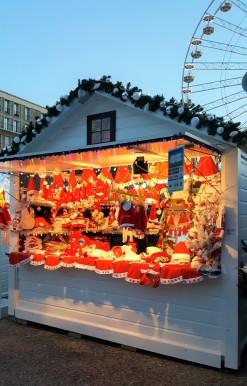 Des bonnets de Père-Noël au Havre !